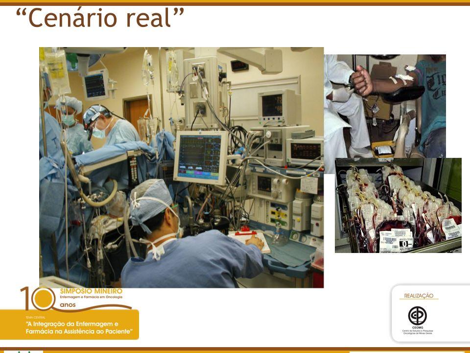 Cenário real www.anvisa.gov.br Agência Nacional