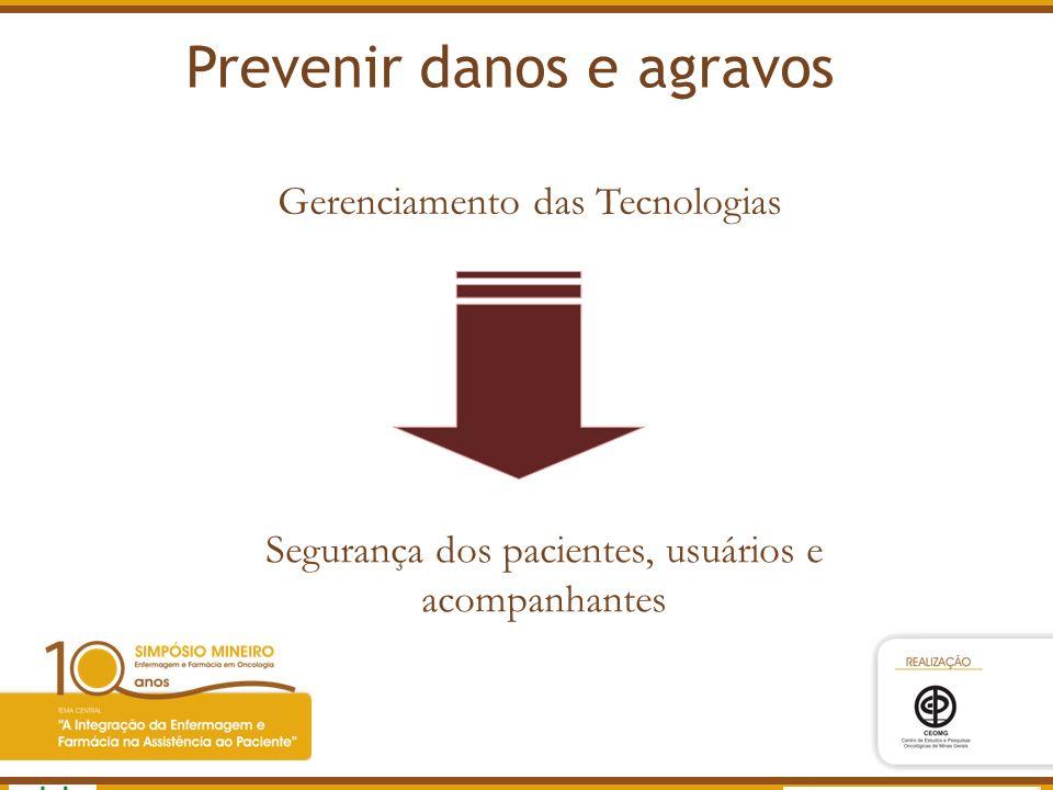 Prevenir danos e agravos