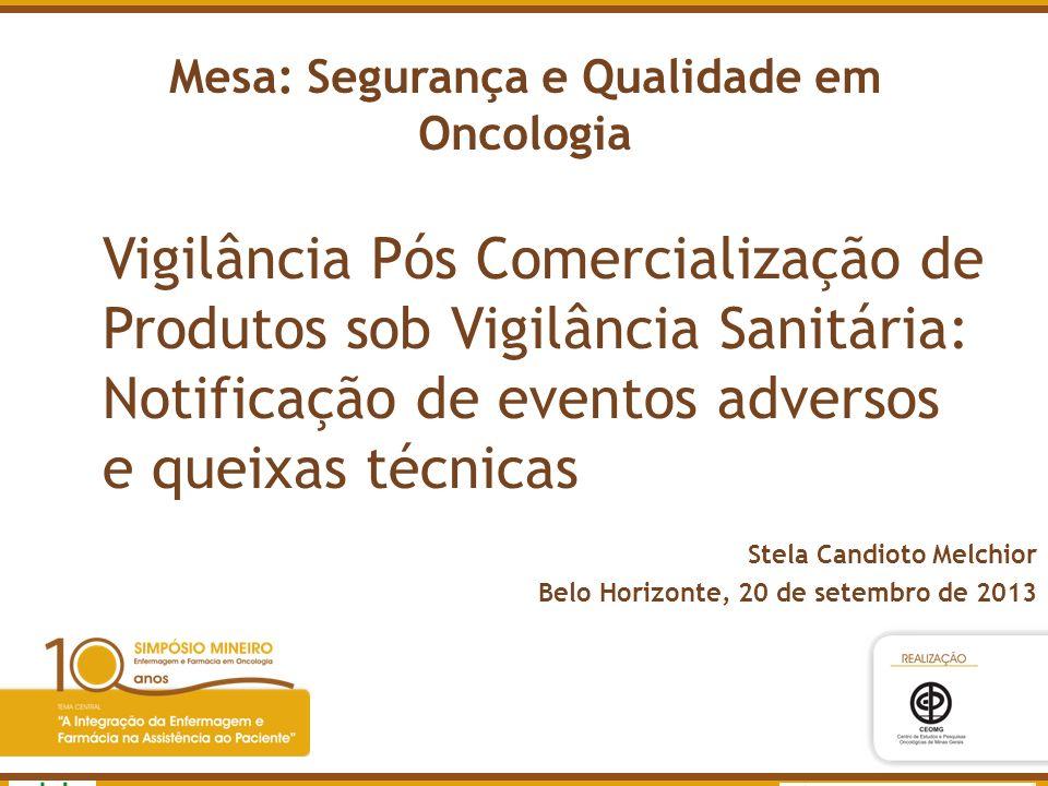 Mesa: Segurança e Qualidade em Oncologia