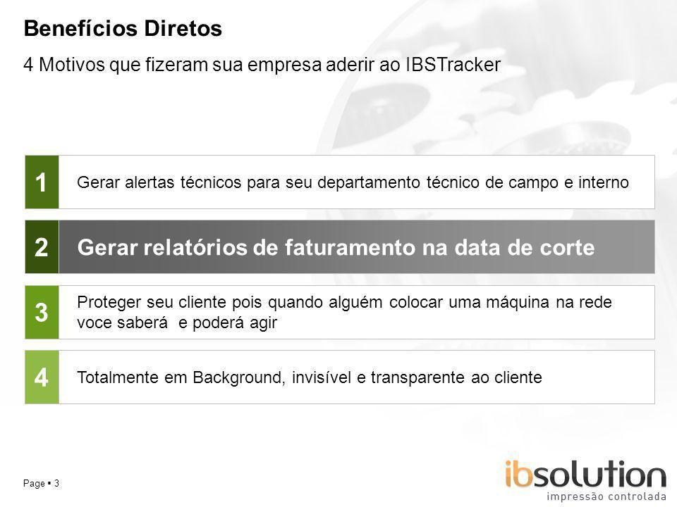 Benefícios Diretos 4 Motivos que fizeram sua empresa aderir ao IBSTracker. 1.