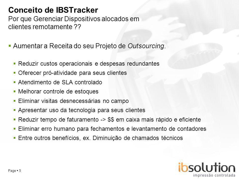 Conceito de IBSTracker