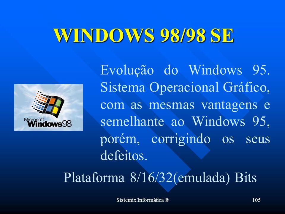 WINDOWS 98/98 SE