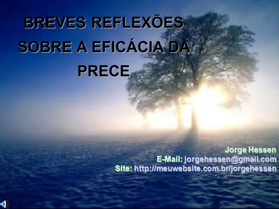 BREVES REFLEXÕES SOBRE A EFICÁCIA DA PRECE