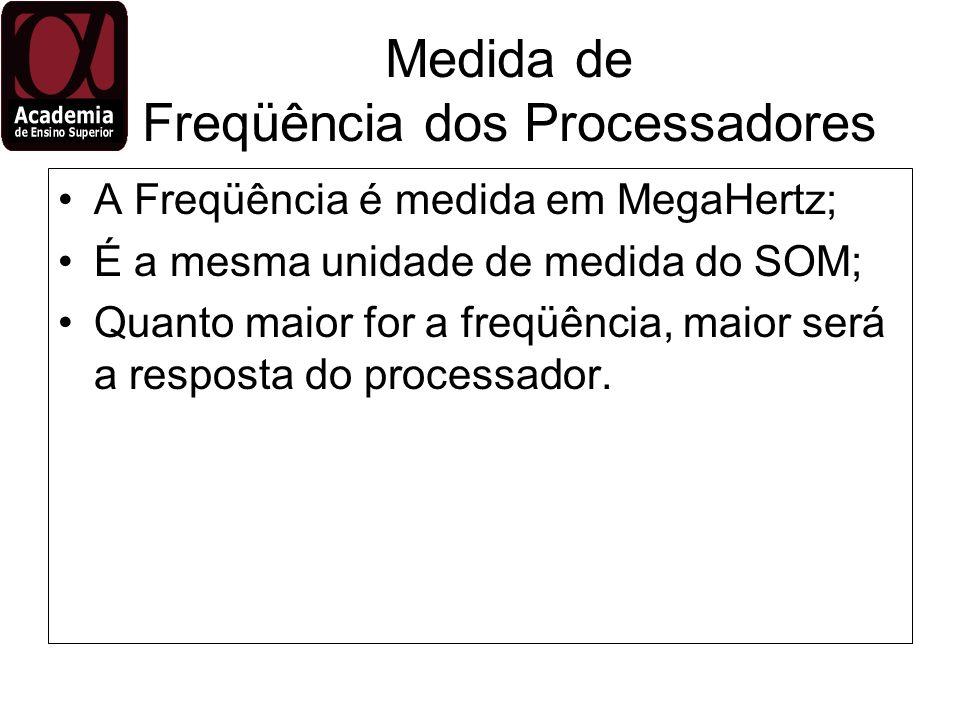 Medida de Freqüência dos Processadores