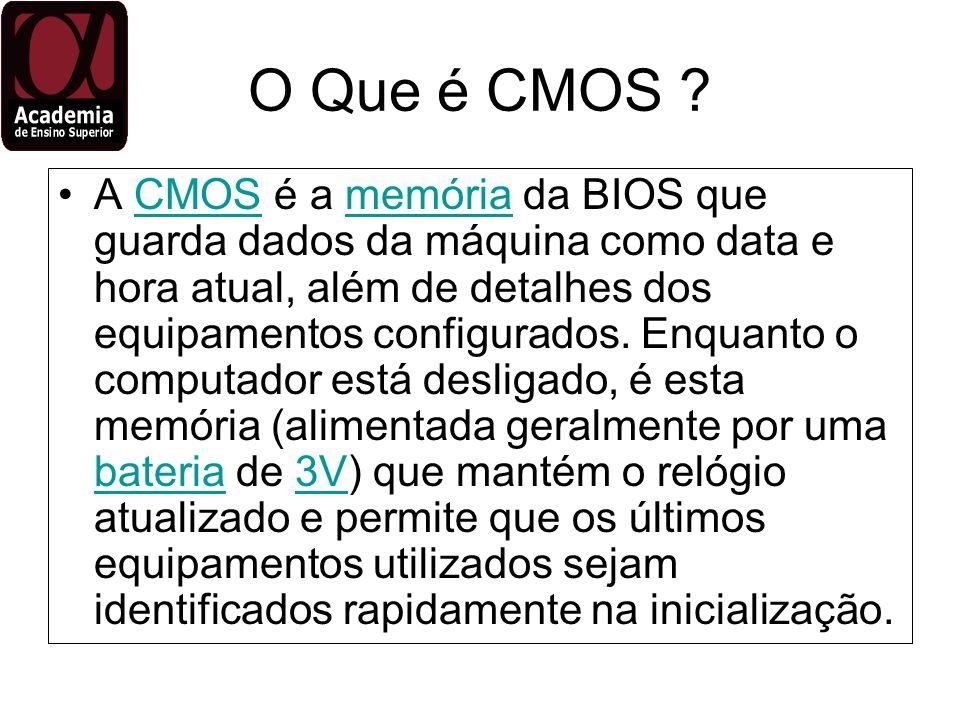 O Que é CMOS
