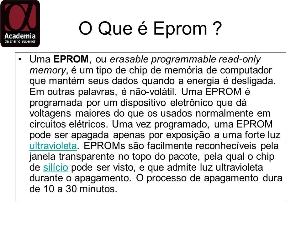 O Que é Eprom