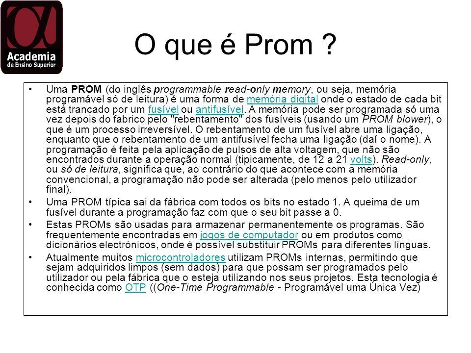 O que é Prom