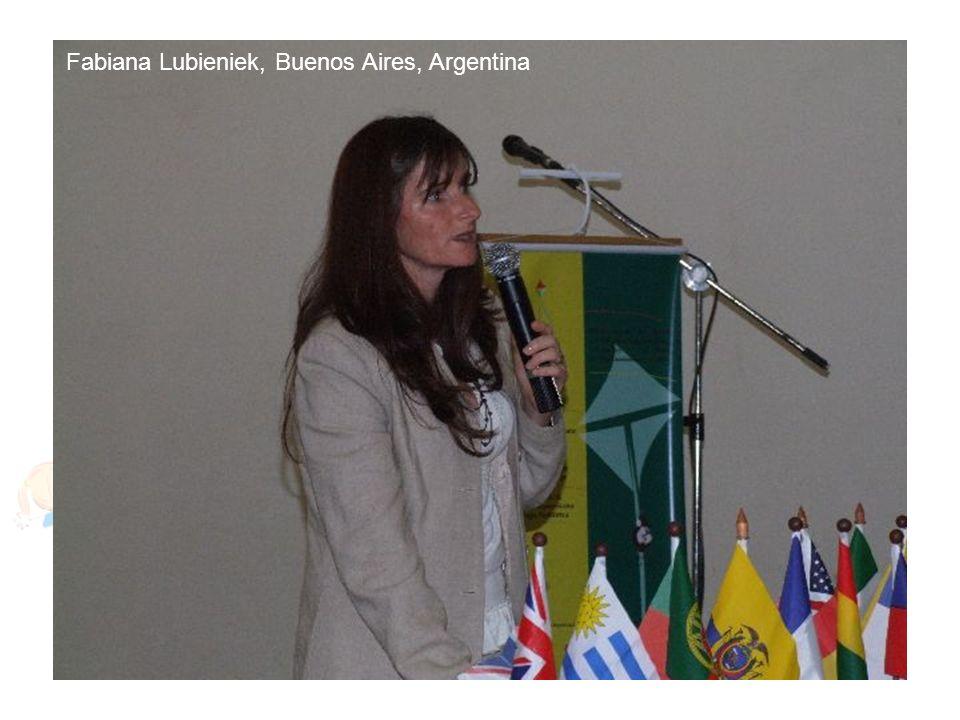Fabiana Lubieniek, Buenos Aires, Argentina