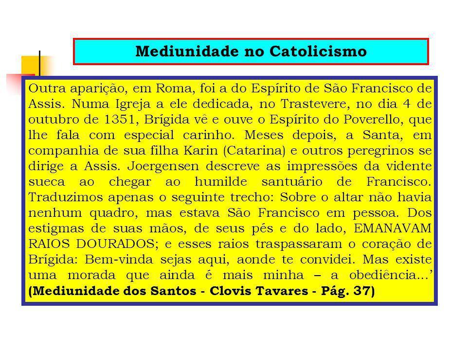 Mediunidade no Catolicismo