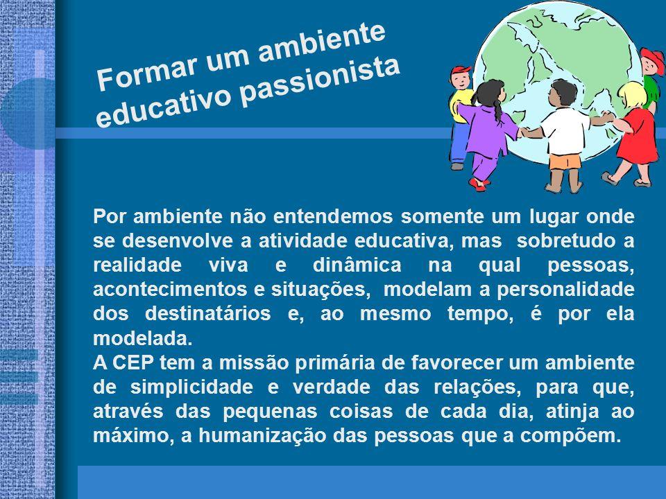 educativo passionista