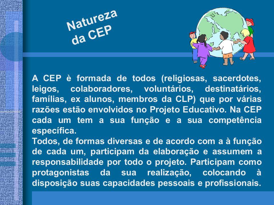 Natureza da CEP.