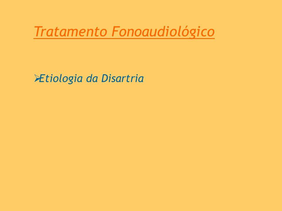 Tratamento Fonoaudiológico