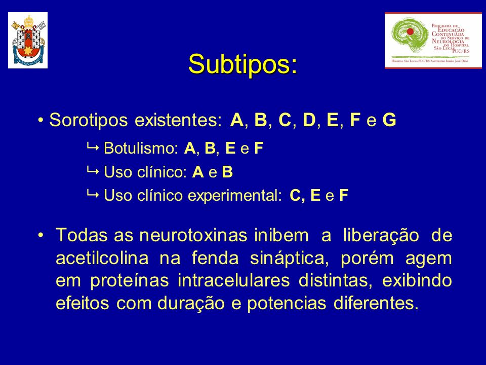 Subtipos: • Sorotipos existentes: A, B, C, D, E, F e G