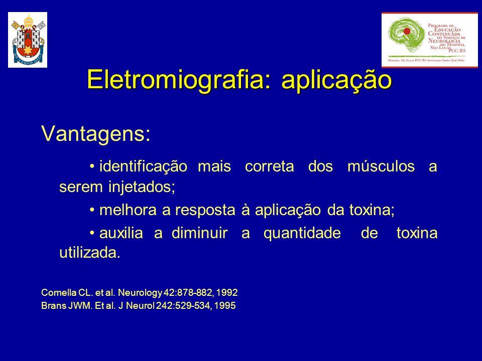 Eletromiografia: aplicação