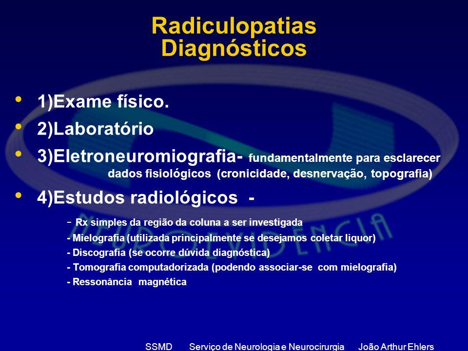 Radiculopatias Diagnósticos