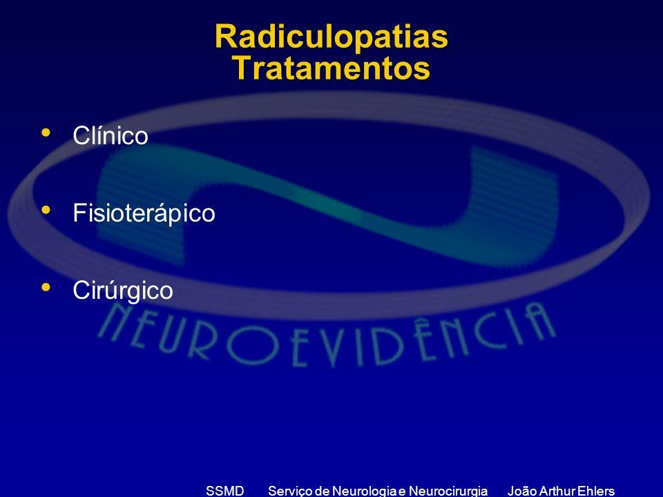 Radiculopatias Tratamentos