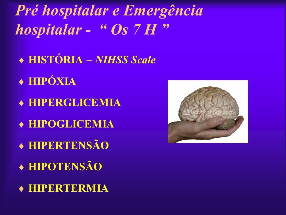 Pré hospitalar e Emergência hospitalar - Os 7 H
