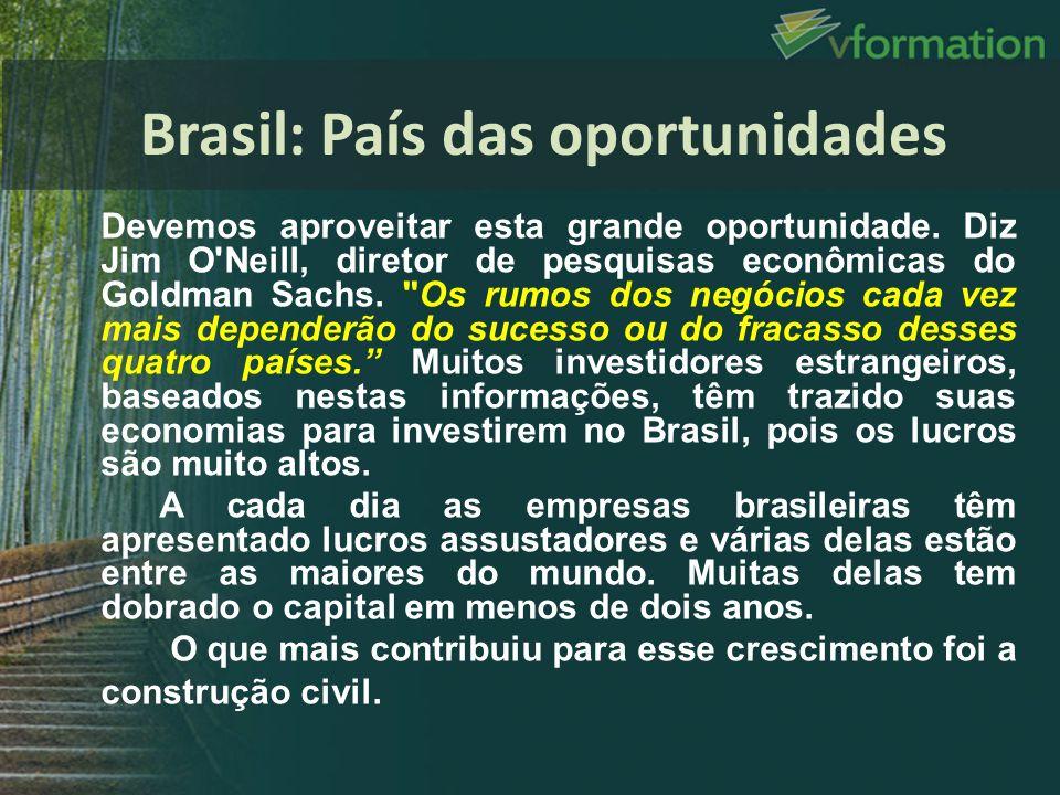 Brasil: País das oportunidades