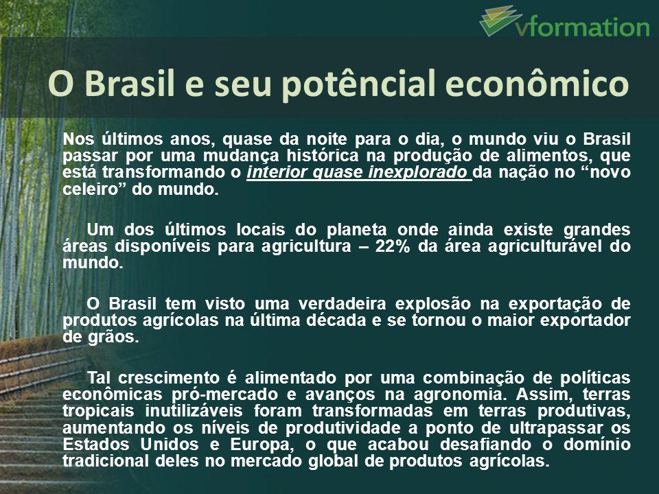 O Brasil e seu potêncial econômico
