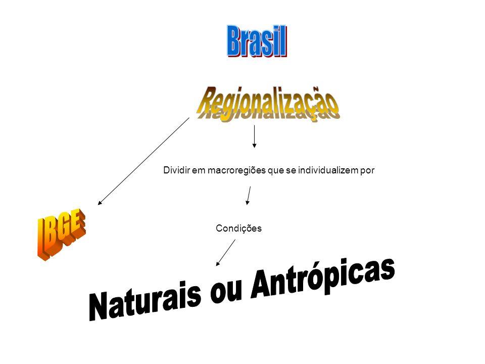 Naturais ou Antrópicas