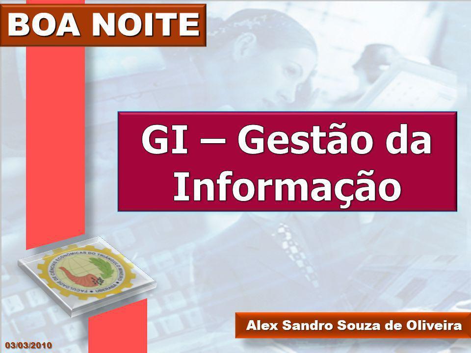 GI – Gestão da Informação