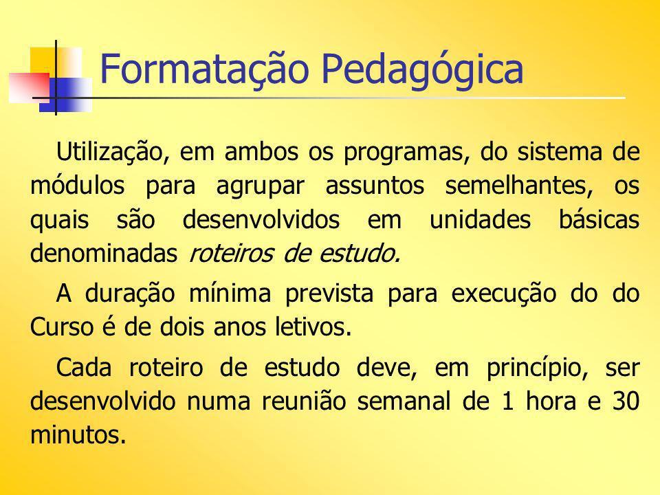 Formatação Pedagógica