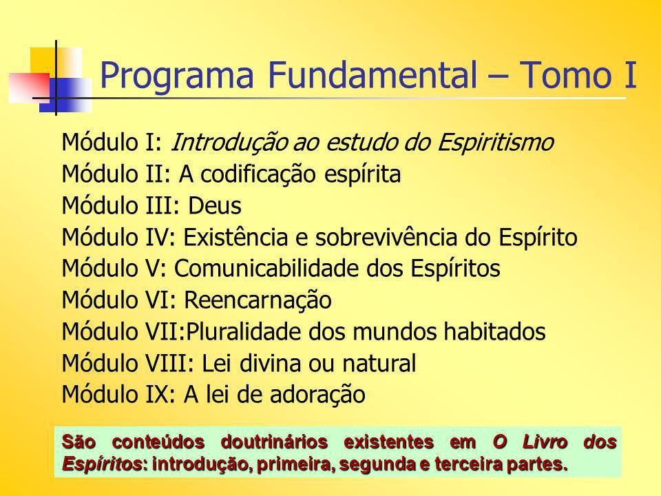 Programa Fundamental – Tomo I