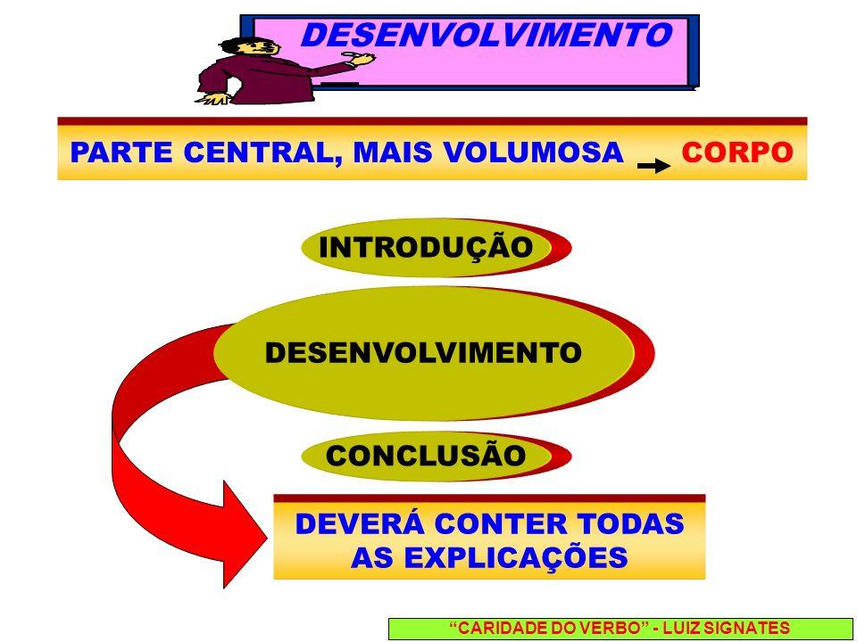 CARIDADE DO VERBO - LUIZ SIGNATES