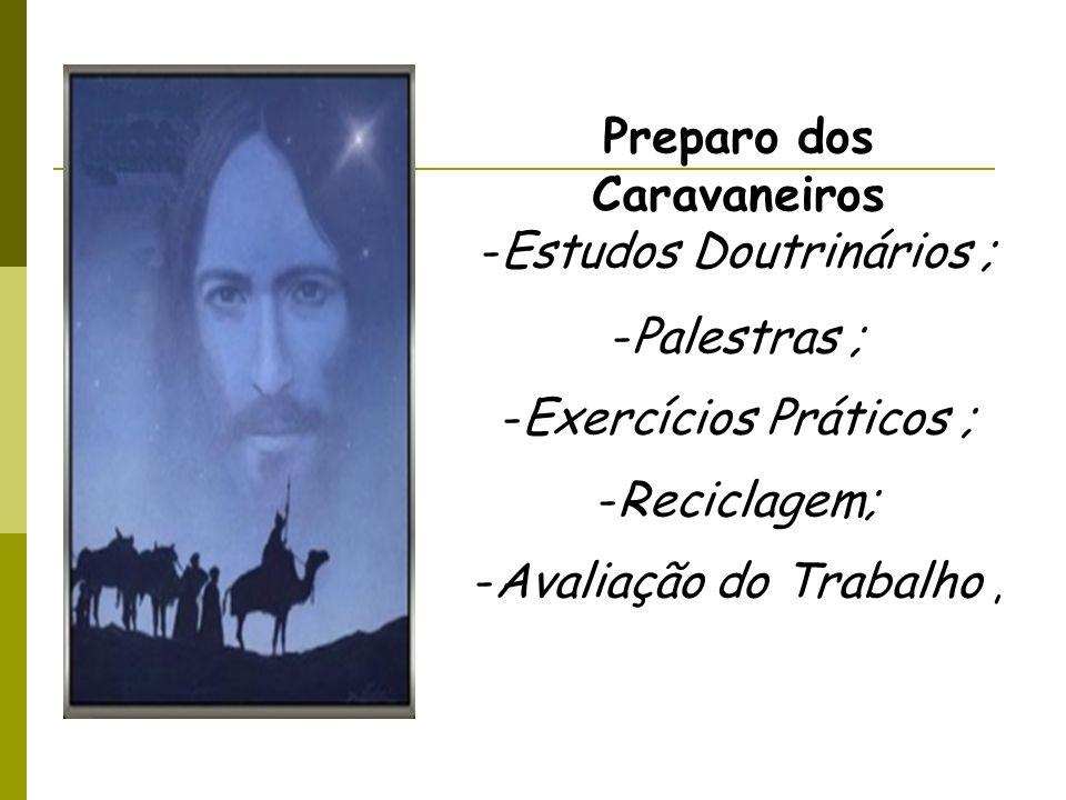 Preparo dos Caravaneiros Estudos Doutrinários ; Palestras ;