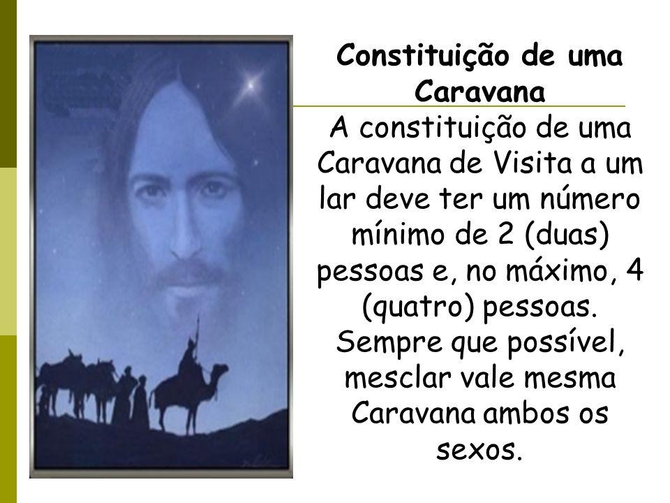 Constituição de uma Caravana