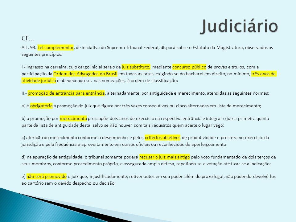 Judiciário CF...