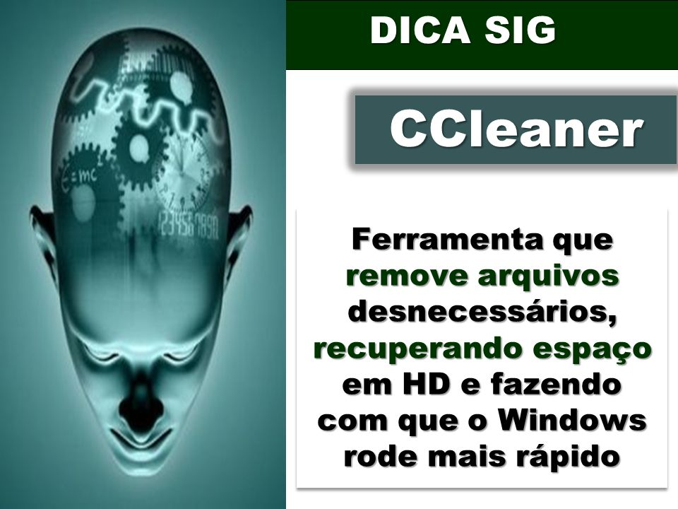 DICA SIG CCleaner.