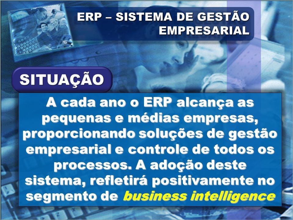 ERP – SISTEMA DE GESTÃO EMPRESARIAL
