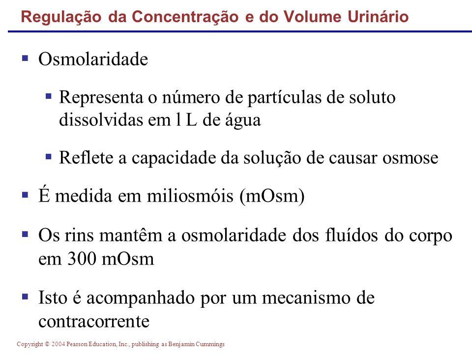 Regulação da Concentração e do Volume Urinário