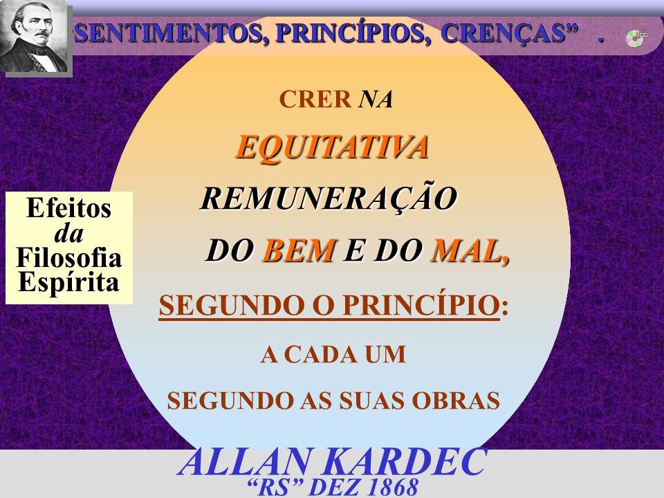 ALLAN KARDEC RS DEZ 1868 EQUITATIVA DAS EXISTÊNCIAS REMUNERAÇÃO