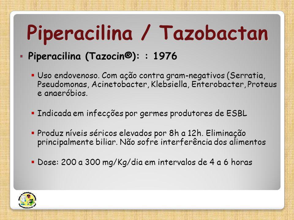 Piperacilina / Tazobactan