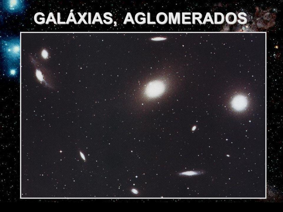 GALÁXIAS, AGLOMERADOS