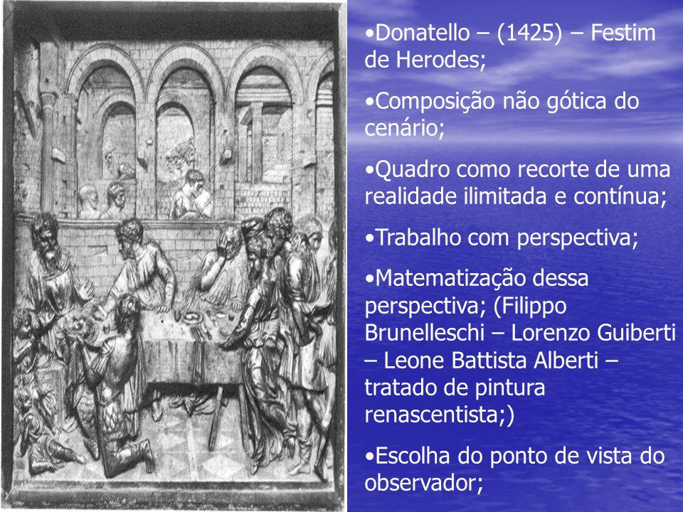 Donatello – (1425) – Festim de Herodes;