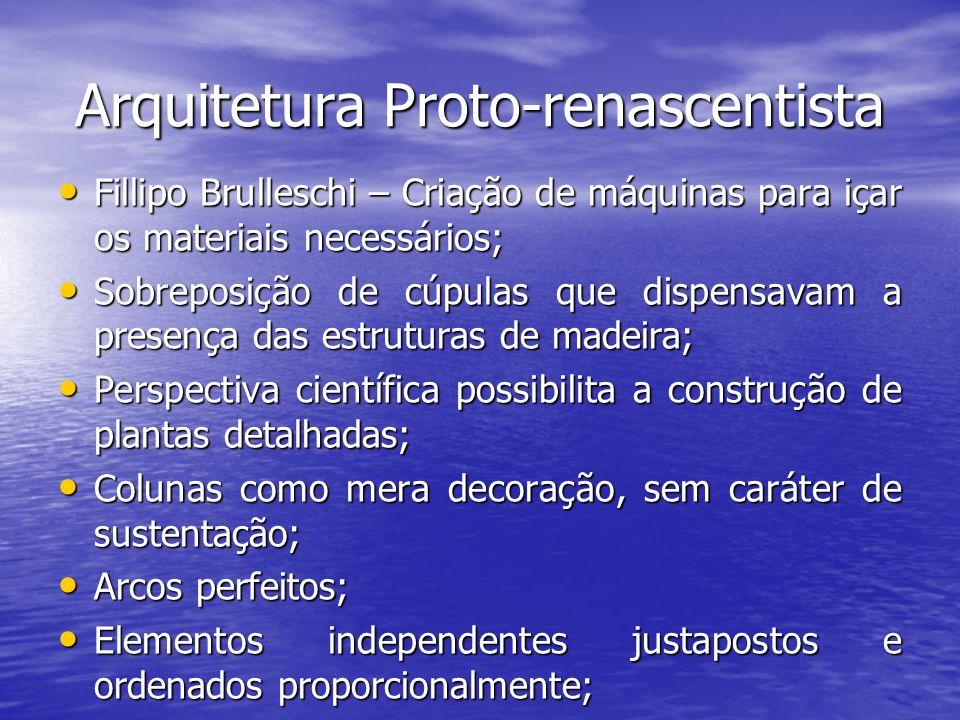 Arquitetura Proto-renascentista
