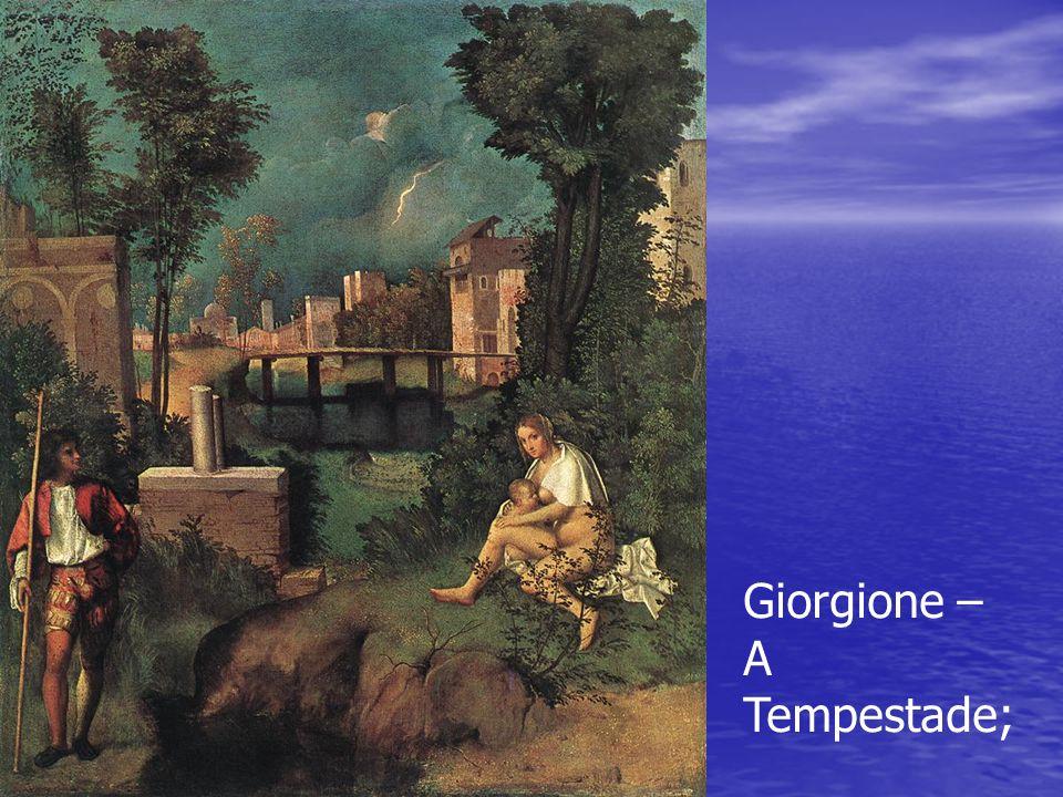 Giorgione – A Tempestade;