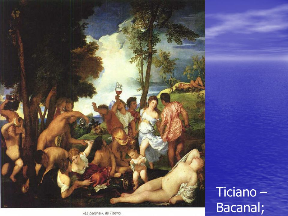 Ticiano – Bacanal;