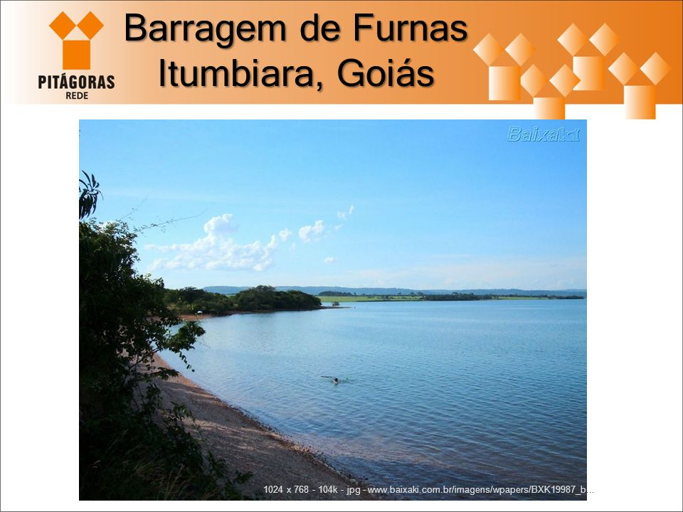 Barragem de Furnas Itumbiara, Goiás