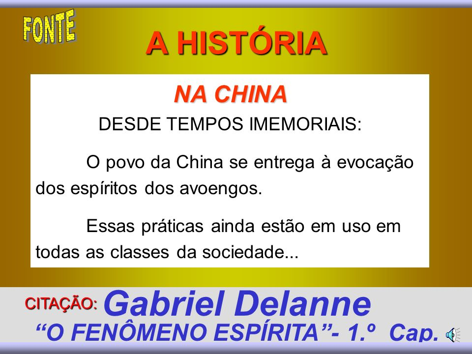 Gabriel Delanne O FENÔMENO ESPÍRITA - 1.º Cap.