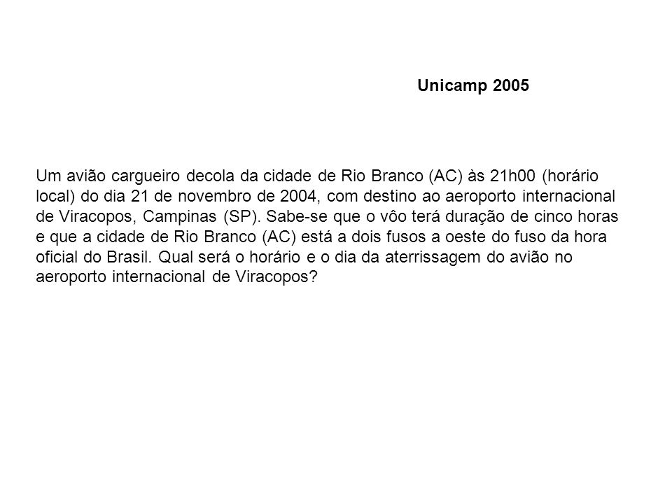 Unicamp 2005