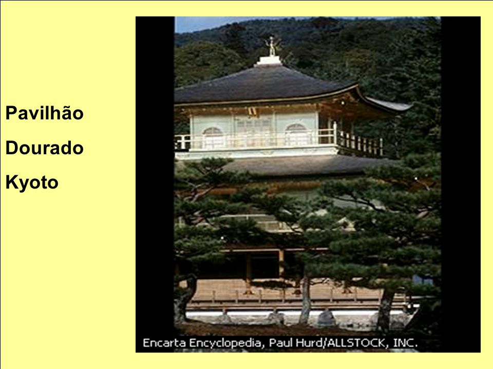 Pavilhão Dourado Kyoto