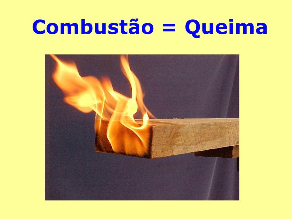 Combustão = Queima