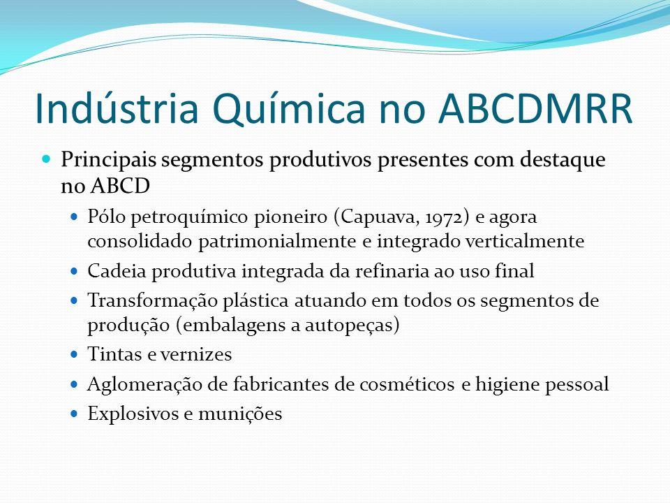 Indústria Química no ABCDMRR