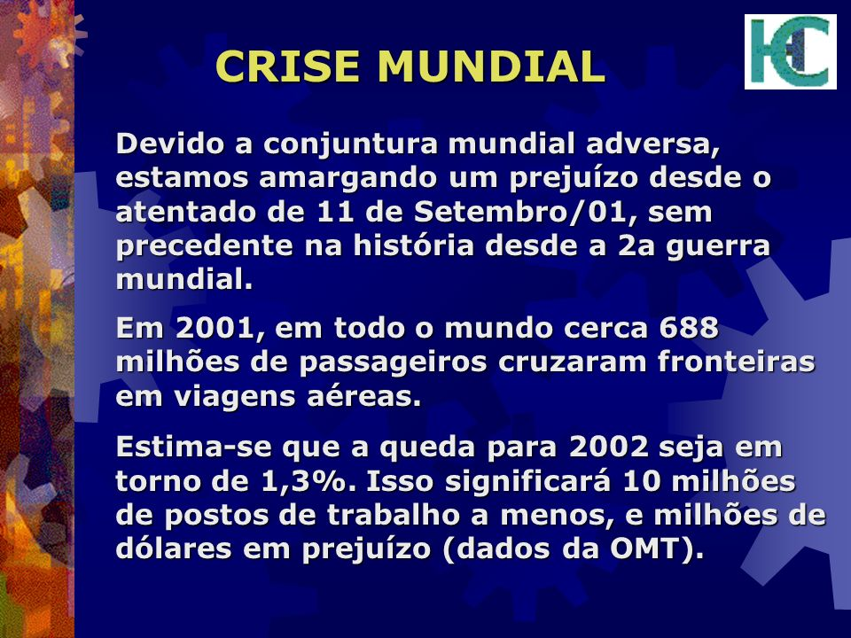 CRISE MUNDIAL