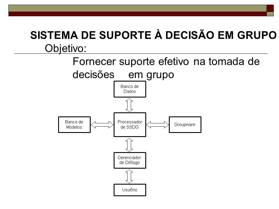 SISTEMA DE SUPORTE À DECISÃO EM GRUPO