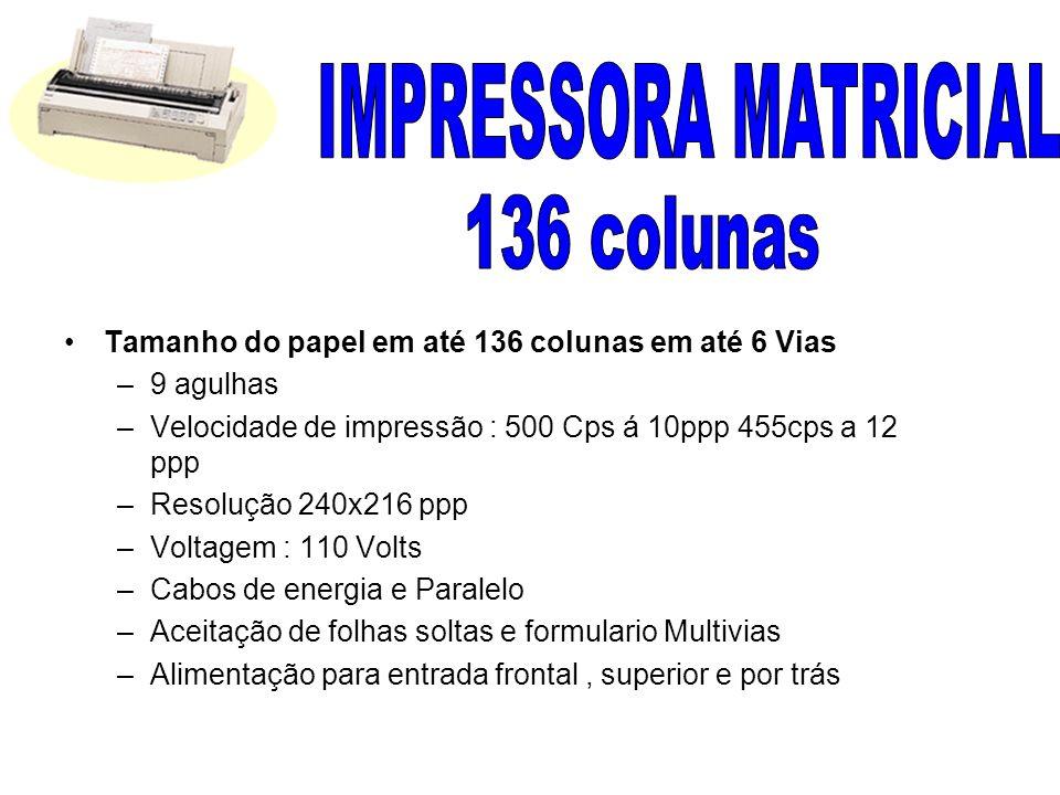IMPRESSORA MATRICIAL 136 colunas